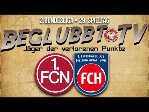 29. Spieltag • 1.FC Nürnberg : 1.FC Heidenheim