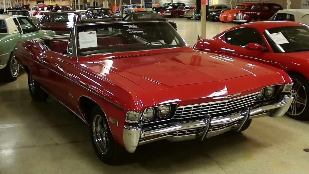 1968 Chevrolet Impala Convertible   YouTube 1968 Chevrolet Impala Convertible