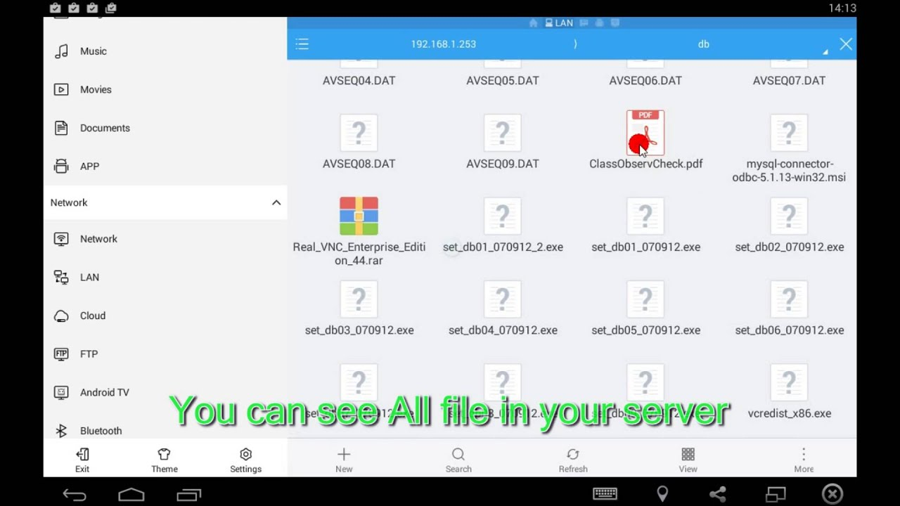 How to Access Shared Windows Folders on Android - Es file explorer