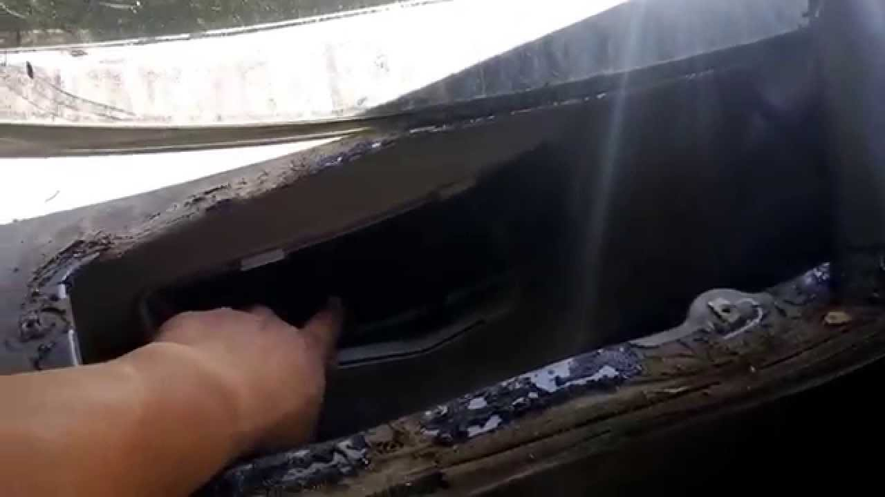 Chevy Hhr Cabin Leak Video 1 Youtube