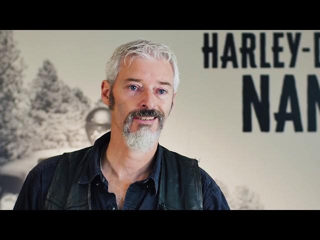 Portrait // Wilfrid GAINE - Responsable des Pièces Détachées et Accessoires / Harley-Davidson Nantes