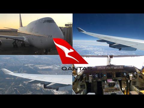 QANTAS BOEING 747-400ER   Economy - Perth To Sydney   TRIP REPORT