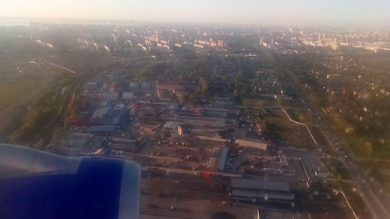 Download посадка в Санкт-Петербурге Avia Traffic Airbus a320 EX-32005