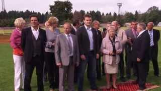 """2013 09 04 - Аллея, стадион """"Труд"""", д/с """"Антошка """"(Лобня)"""