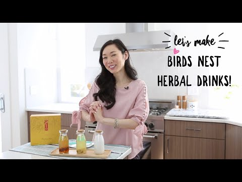 Swallow Birds Nest (燕窩) Chinese Herbal Drink Recipe