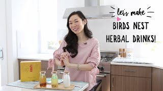 Birds Nest Chinese Herbal Drink recipe (燕窩) 3 ways!
