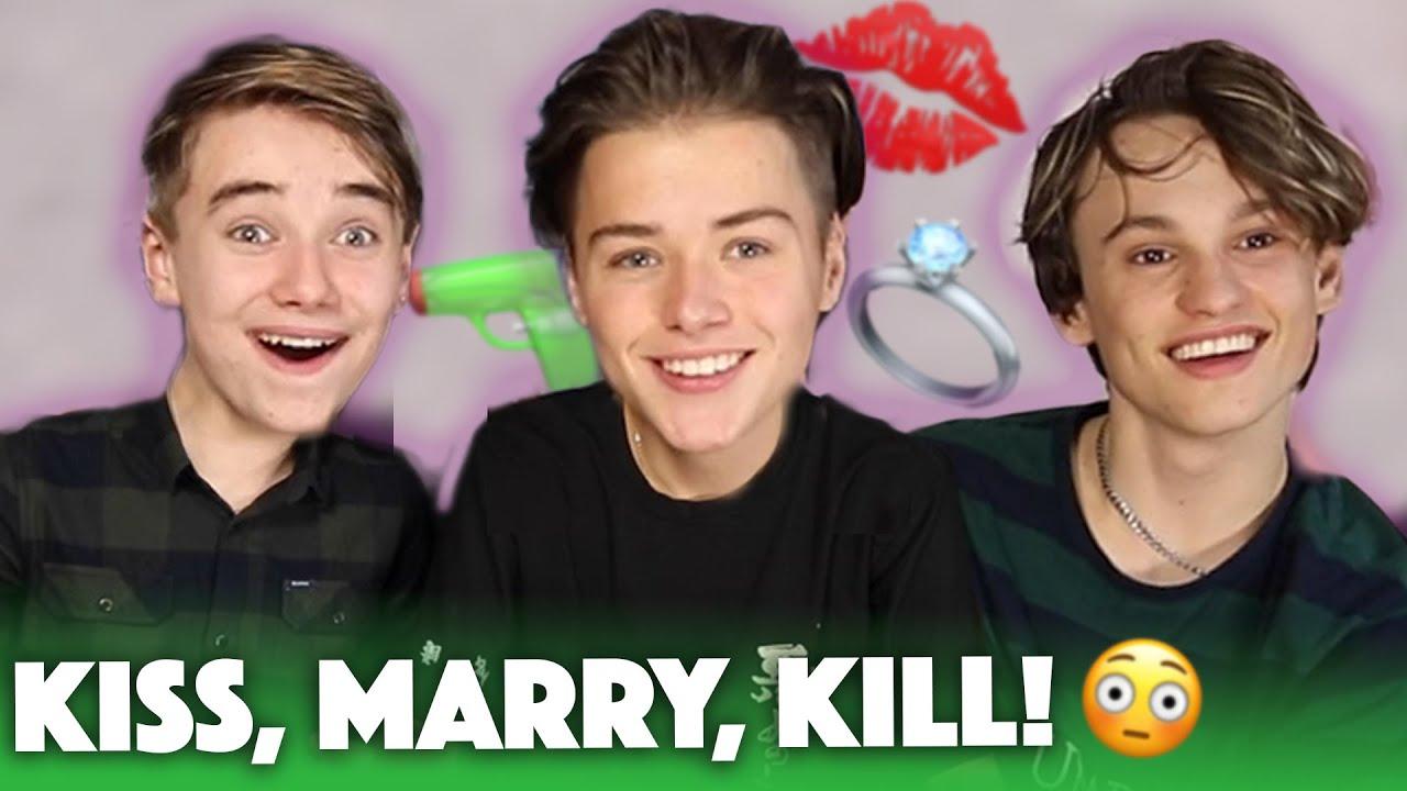 Download IK WIL MET HAAR ZOENEN!😳 Kiss, Marry, Kill met Markie!   Spaze