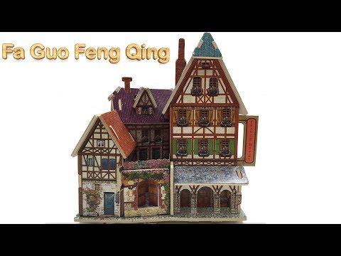 DIY Miniature Fa Guo Feng Qing F127 ~ Robotime 3D Wood Craft Construction Kit