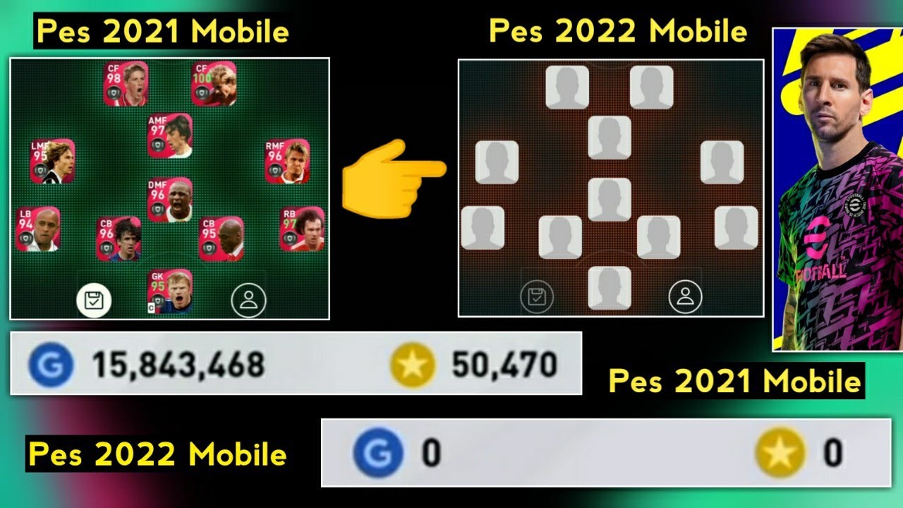 Will Our Iconic Legends Gets Removed In Pes 2022 Mobile | What Will Happen To Our Account In Pes2022