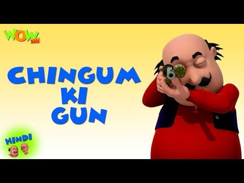 Chingum Ki Gun - Motu Patlu in Hindi - 3D Animation Cartoon - As on Nickelodeon