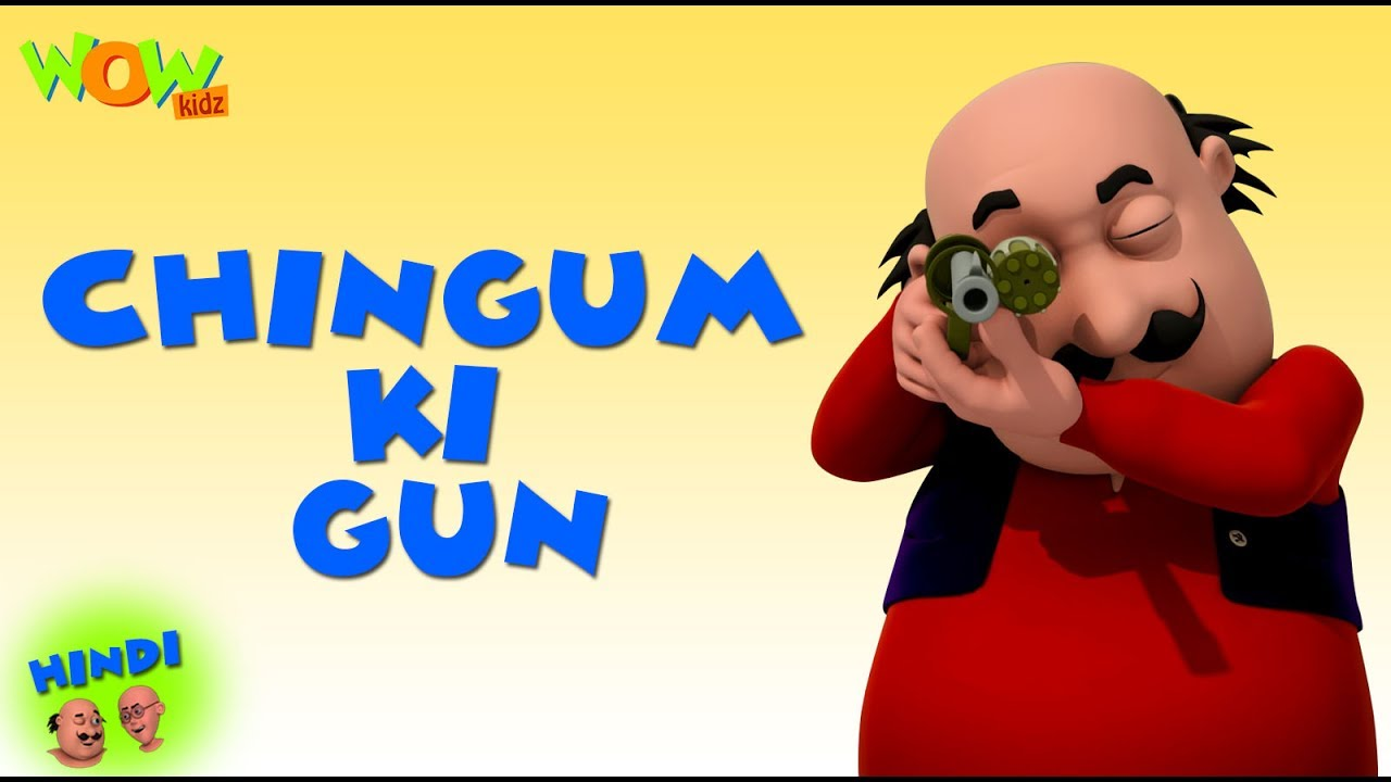 Chingam Ki Gun Motu Patlu In Hindi 3d Animation Cartoon As On