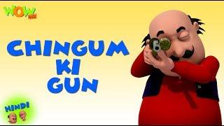 Chingam Ki Pistolet | Motu Patlu en Hindi | Animation 3D Cartoon | Haute sur Nickelodeon