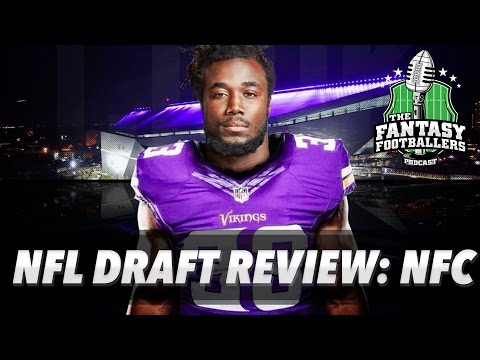 Fantasy Football 2017 - NFL Draft Review Pt 2: NFC Winners & Losers - Ep. #375