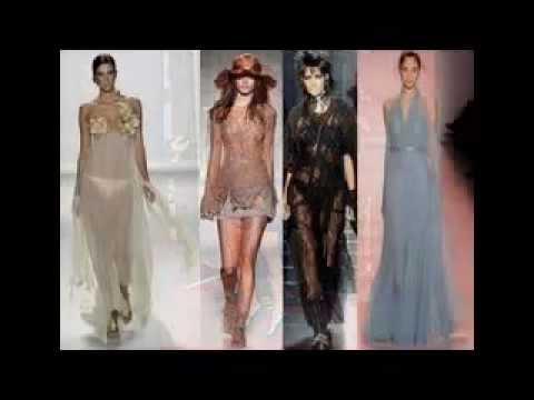 Видеоролики.в прозрачных платьях