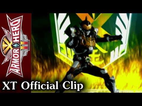 Armor Hero XT - Official English Clip [HD 公式] - 06
