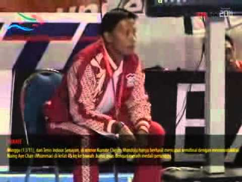 KARATE PUTRA CHRISTO MONDOLU SEA GAMES 2011 Travel Video