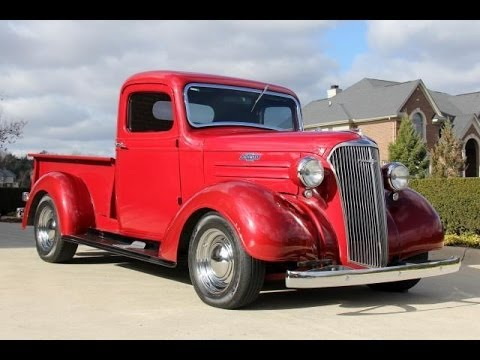1937 Chevrolet Pickup Truck Test Drive Classic Muscle Car