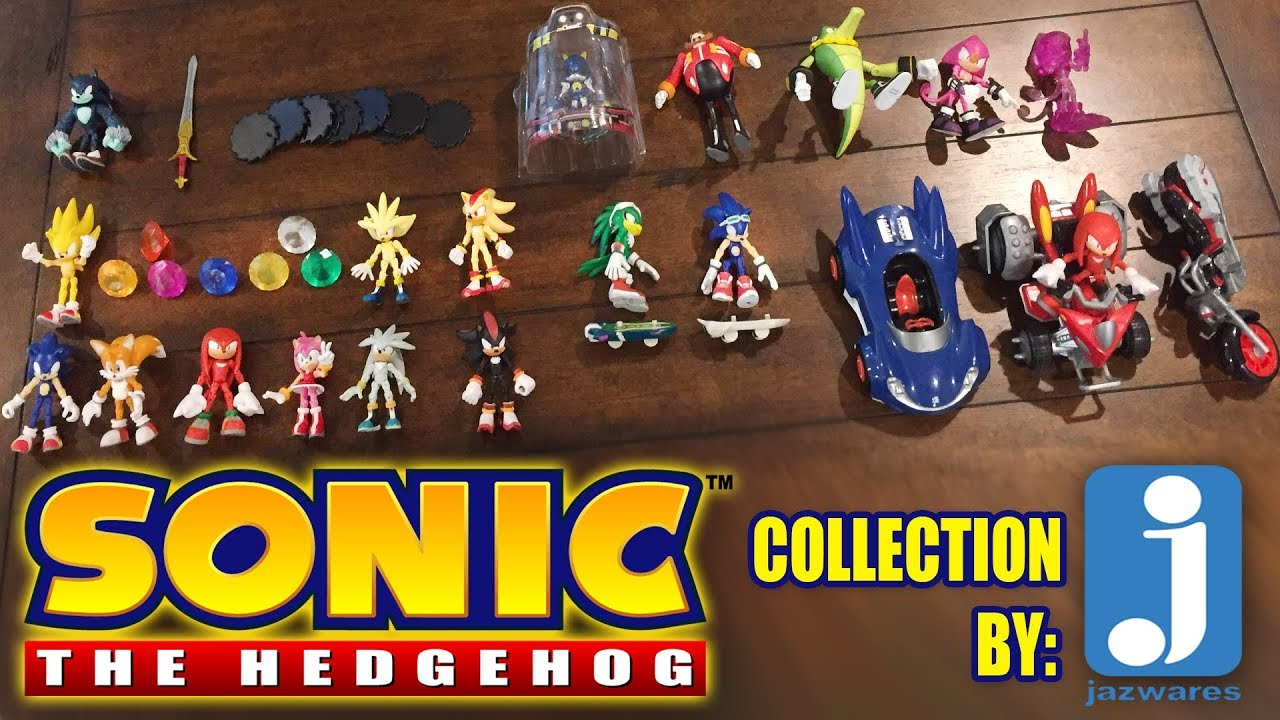 Sonic The Hedgehog Action Figure Collectibles By Jazwares Showing