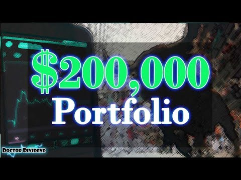 $200,000 HIGH DIVIDEND YIELD Stock Portfolio | Robinhood APP Portfolio!