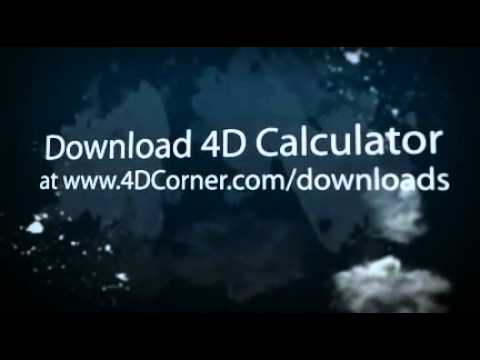 Free 4D Calculator For Download (Magnum) flv