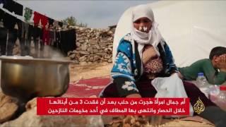 أم جمال فقدت ثلاثة أبناء وهُجرت من حلب