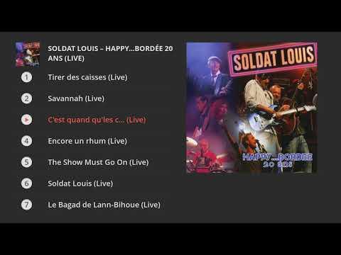 Soldat Louis - Happy...bordée 20 ans (Live) Karaoké !