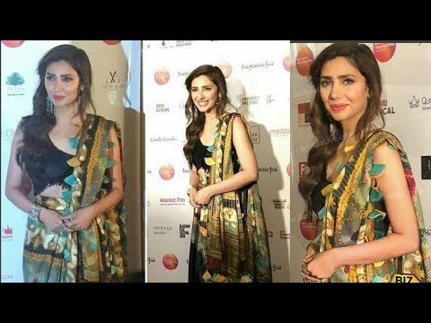 Gorgeous Mahira Khan at the Opening Gala of the UK Asian Film Festival in London || Ainy TV.
