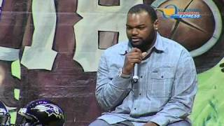 Michael Oher (The Blind Side) - Oklahoma FCA Banquet