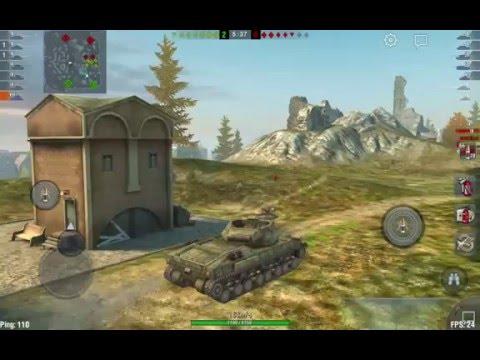 World of Tanks Blitz T28 Prototype -  ис7 не смог (android)