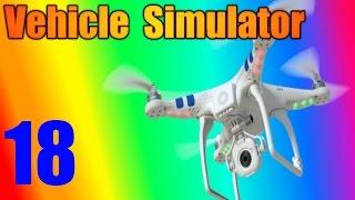 WIR GOT EINE DRONE! - Fahrzeugsimulator Ep 18 - ROBLOX