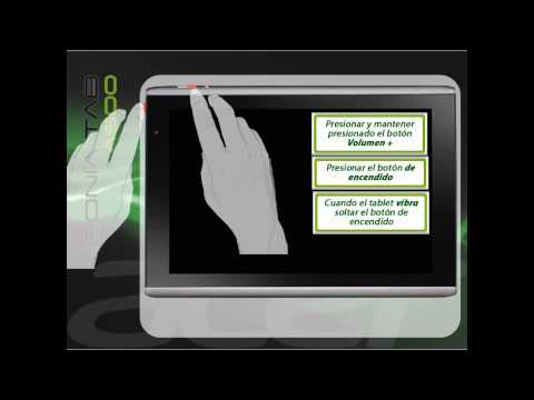 Acer Iconia Tab A500 Realizar un Hard Reset con Pantalla en negro