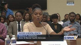 Taraji P. Henson on Mental Health (C-SPAN)