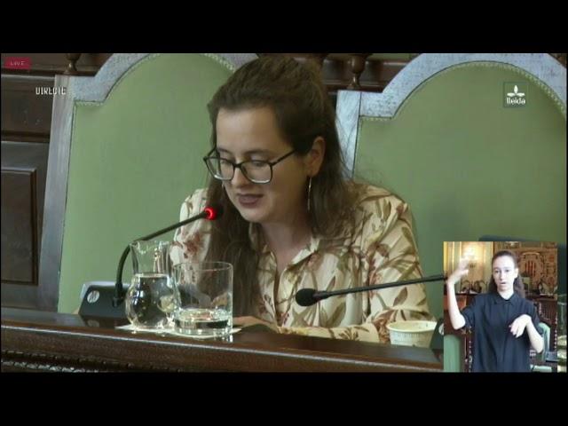Aprovades unes ordenances fiscals que comporten millores per a la gent de Lleida