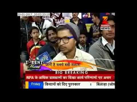 Kamlesh Salvi | Audition Video | Zee Rajsthan News | Telent Hunt 2016 |