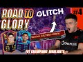 CRAZY GLITCH ON MY 1ST ROAD TO GLORY FUT CHAMPS WEEKEND LEAGUE!! FIFA 21 ROAD TO GLORY! #4