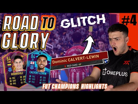 CRAZY GLITCH ON MY 1ST ROAD TO GLORY FUT CHAMPS WEEKEND LEAGUE!! FIFA 21 ROAD TO GLORY! #4 |