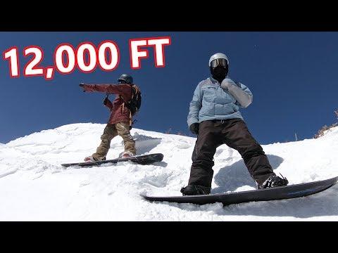 12,000 FT SNOWBOARDING WITH RYAN KNAPTON