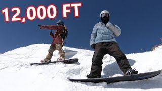 12,000 FT SNOWBOARDING WITH RYAN KNAPTON