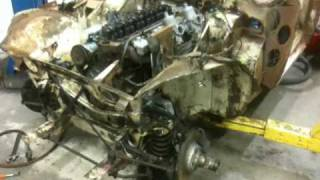 Austin Healey 3000 Mk I Part 2,  Torn down