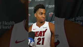 Hassan whiteside at miami heat media day