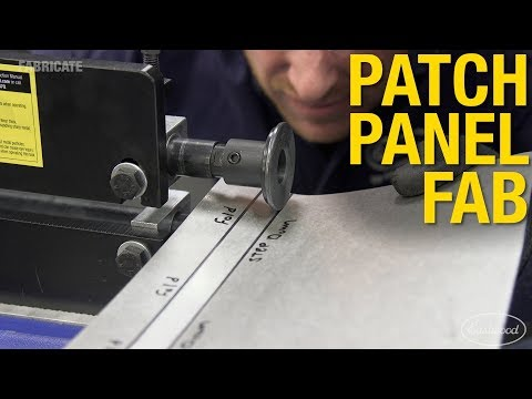 "Model-T Patch Panel Fabrication with the 8"" Elite Bead Roller - Eastwood"