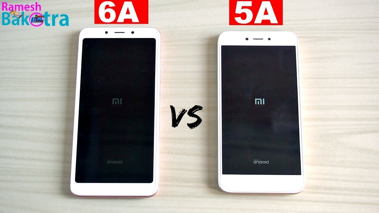 Redmi 6a Vs Redmi 5a Speed Test And Camera Comparison Youtube