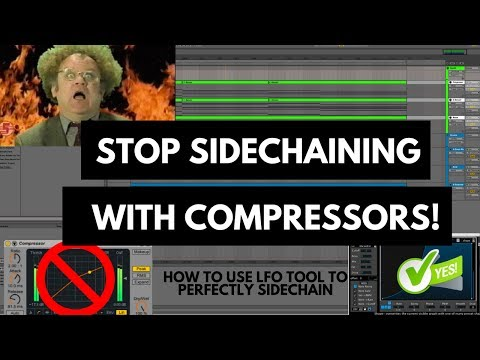 How to Sidechain with LFO Tool (Stop using compressors!)