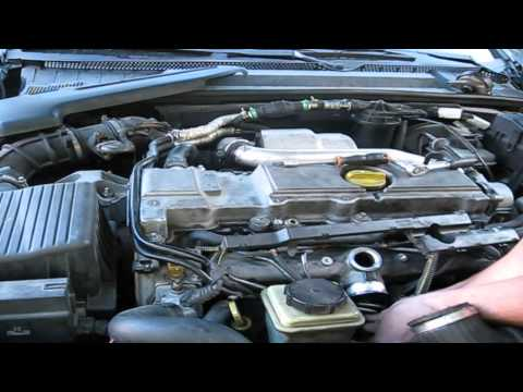 Opel (Vauxal) Vectra 2.2 starting problem. Injector seals ch
