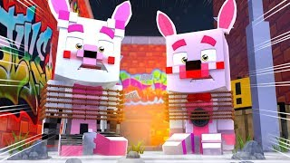Minecraft Fnaf Daycare: Mangle And Foxy Jr Gets Kidnapped?! (Minecraft Fnaf Roleplay)