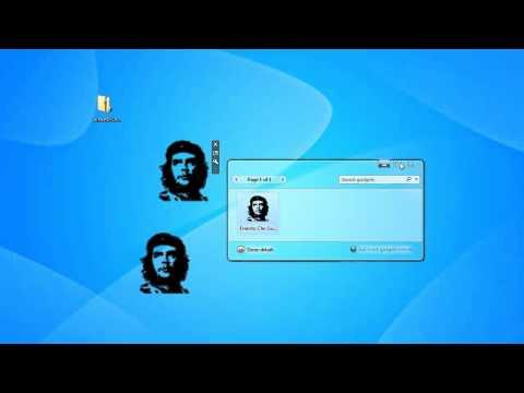 Ernesto Che Guevara Windows 7 Sidebar Gadget