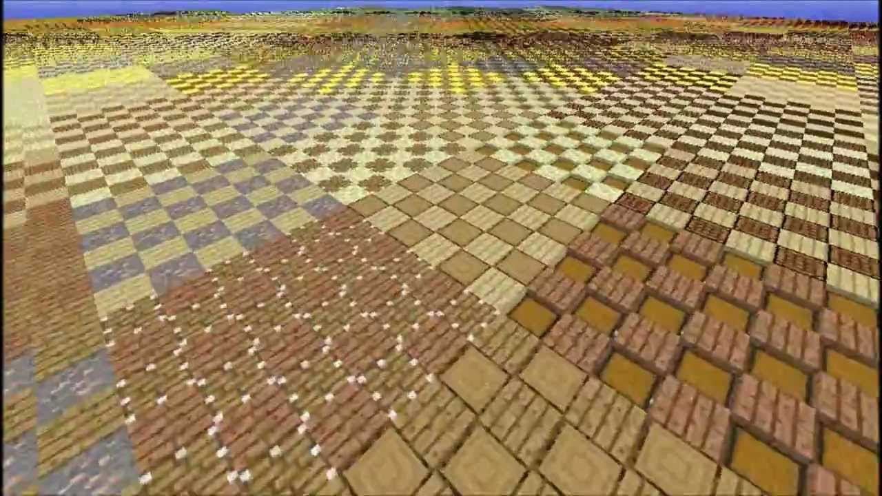 Minecraft Many Patterns To Help With Decorating Your Home
