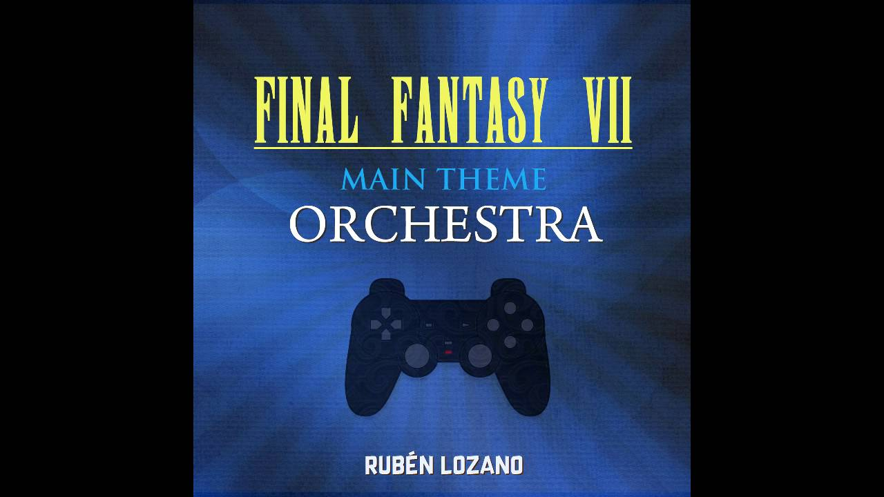 final fantasy vii main theme orchestra youtube