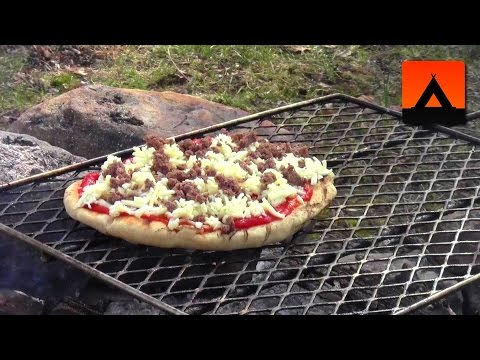 How To Make Pizza Over The Campfire