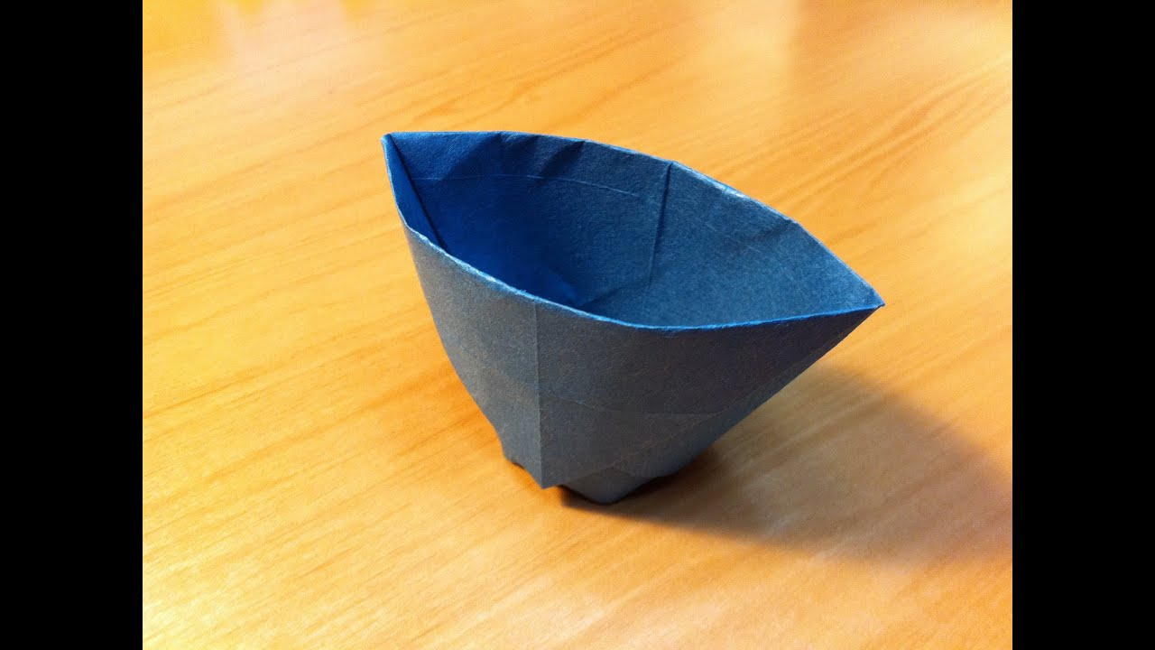 origami paper cup instructions tutorial youtube